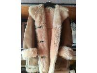 Ladies genuine Sheepskin fur coat jacket from Glastonbury