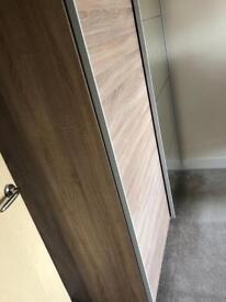 Large 2 door sliding wardrobe