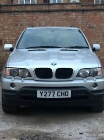 BMW X5 Sport 3.0ltr / 5dr / x2 double exhaust & 4.6ltr spec alloys for sale / Priced low