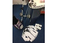 Benross Full set of clubs including bag and trolley