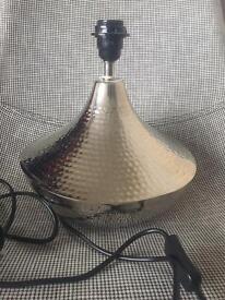 Silver Lamp base