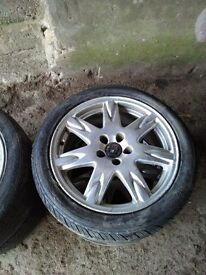 Alloy Wheels & Tyres For A Volvo