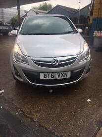 Vauxhall Cors 2011 1.2cc, Exclusive, Manual, Patrol, 5doors, Low mileage...(37k on the clock)..