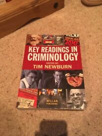 Criminology / Sociology University Textbooks (Key Readings in Criminology / Oxford Handbook etc...)