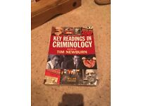 Criminology / Sociology University Textbooks (Key Readings in Criminology / Oxford Handbook etc...)