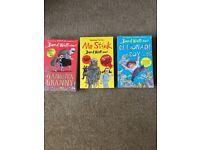 Set of 3 David Walliams Books
