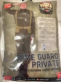 Fancy Dress - 1940's Home Guard Private Costume