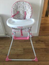 Unicorn high chair