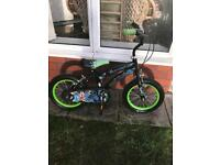 "BEN 10 ULTIMATE ALIEN 14"" BOYS BIKE, really good condition"
