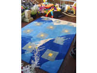 Gorgeous Massive Wool Rug (needs cleaning) 170cms x 240cms