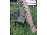 Fishing chair hold-all and bag