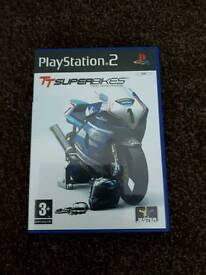 New condition isleman TT races game.ps2.