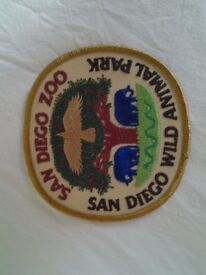 San Diego Zoo Patch Badge