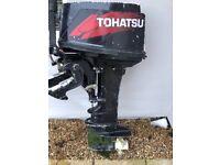 TOHATSU 30 HP OUTBOARD ENGINE
