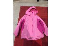 Girls Peter Storm 3 in 1 coat, age 7 -8