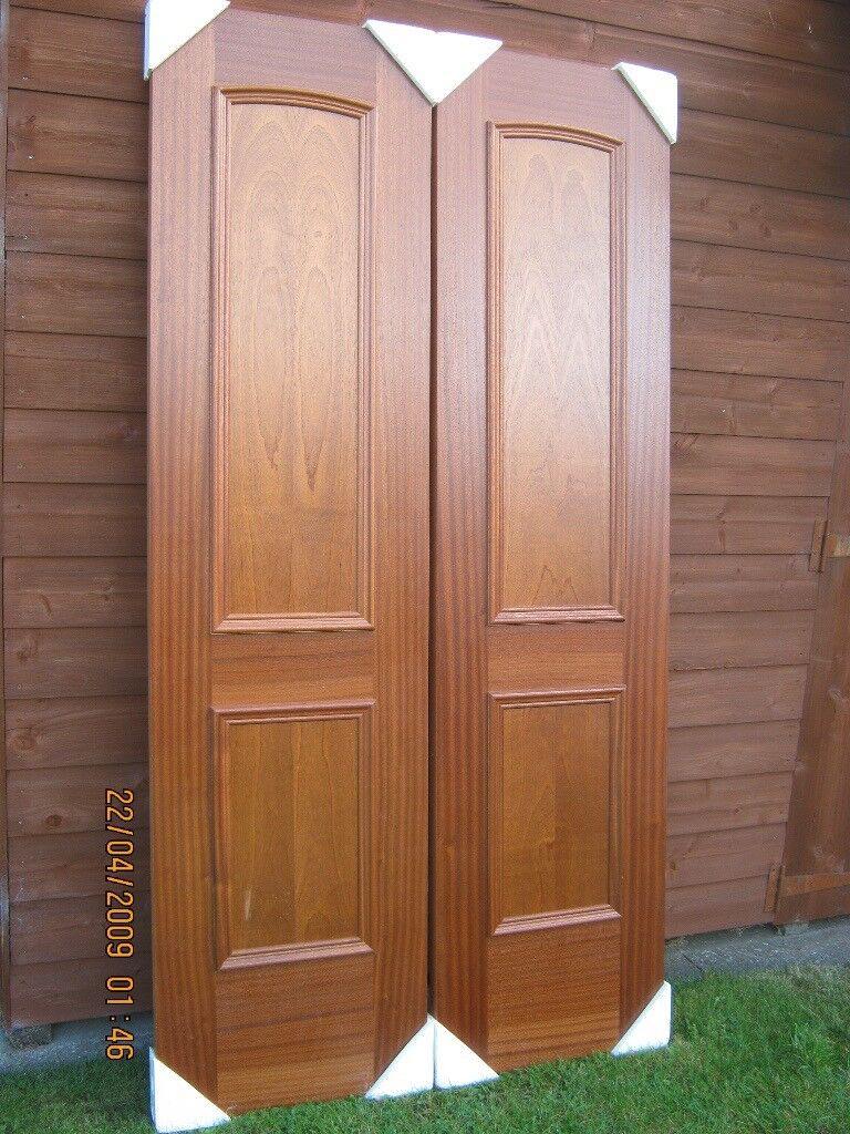 dark wood interior doors. Pair Of Dark-wood Internal Doors (New) Dark Wood Interior
