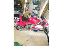 Nearly new mini moto