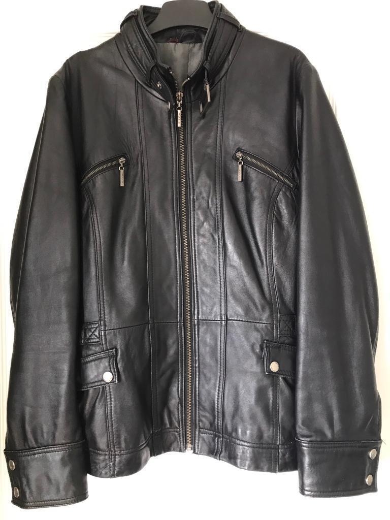Leather jacket Debenhams size 16