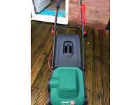 Qualcast eclipse 320 electric lawnmower