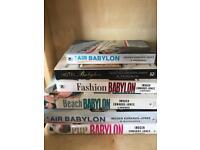 Selection of Babylon books