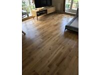 Laminate and wood flooring fitter