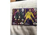 Panini 2018 WC Trading cards