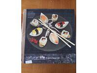 Natural Life 9 Piece Slate Tapas Platter