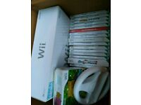 Wii machine and games