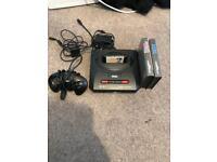Sega Mega Drive with 2 sonic games