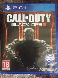 Call of duty black ops 3 Ps4 good condition no scratches.