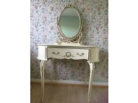 White Vintage Dressing Table