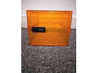 Lockabox - Orange - Barely used, like new