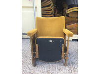 Vintage Theatre Chair