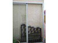 SLIDING DOUBLE GLAZED LARGE FRAME PATIO DOORS: