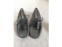 Leather jazz shoes (UK 10 1/2)