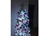 Christmas tree , lights decorations
