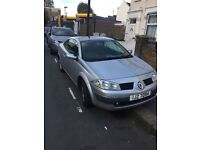 2005 Renault Megan automatic convertible low mileage full service history 2 keys