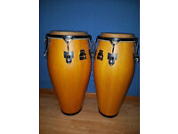 "Pair of Meinl Marathon Congas (9.5"" & 11"")"
