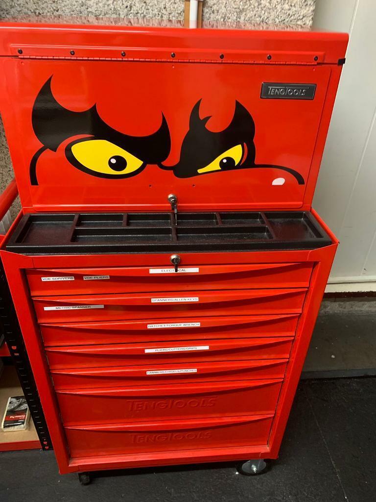 Teng Tools Roller Cabinet Top Box In Bridge Of Don Aberdeen
