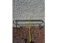 Boat steel gunwale rail