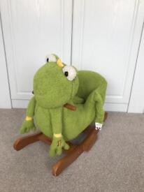 Rocking frog (makes sounds)