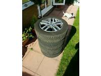 VW Golf Mk6 Alloys and Tyres - Great Condition