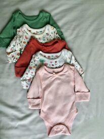 M&S 'Tiny Baby' (2.8kg / 48cm) clothes bundle