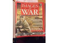 Complete Collection of Images of War Magazine (WWII) 78 Magazines in 5 binders