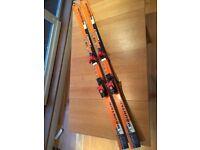 Volkl Norbert Joos Cross Country, All Mountain Skis 1770mm and Solomon Equipe Bindings