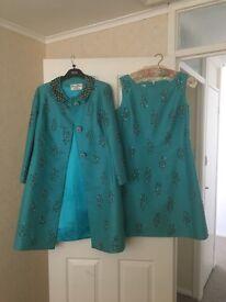 Vintage dress and coat
