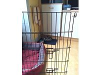 Metal puppy dog run / fence for indoors or out - £10.