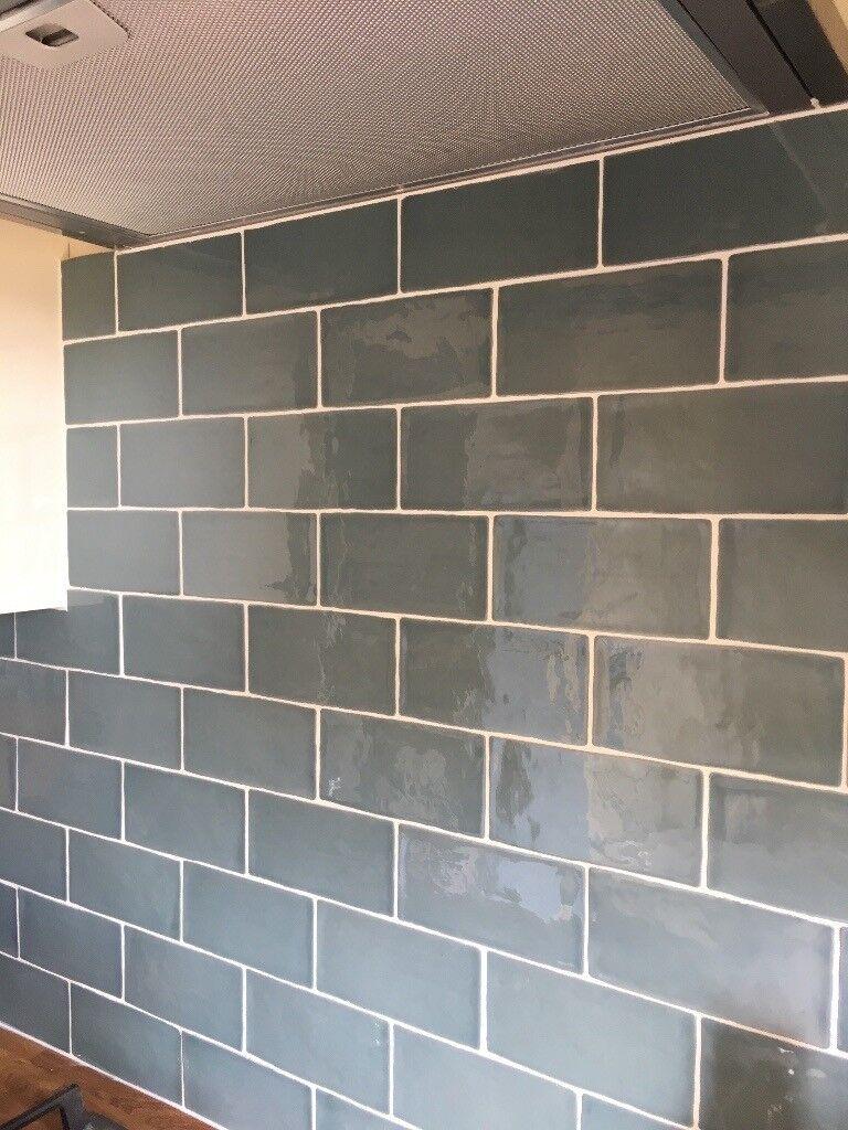 Artiste Pottery Blue wall tiles   in Exeter, Devon   Gumtree