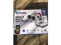 Brand new Swan Video and Alarm Home/Small Business Security kit