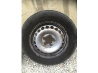 4 x VW T5 Wheels and tyres